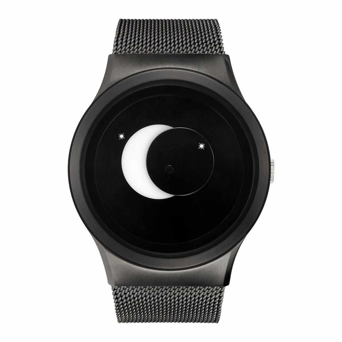 ZEROO SUPER MOON ゼロ 電池式クォーツ 腕時計 [W02007B02SM02] ホワイト デザインウォッチ ペア用 メンズ レディース ユニセックス おしゃれ時計 デザイナーズ