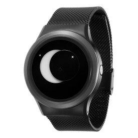 ZEROO SUPER MOON ゼロ 電池式クォーツ 腕時計 [W02007B03SM03] ホワイト デザインウォッチ ペア用 メンズ レディース ユニセックス おしゃれ時計 デザイナーズ