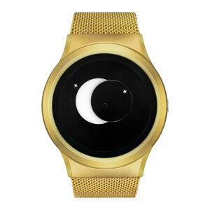 ZEROOSUPERMOONゼロ電池式クォーツ腕時計[W02007B04SM04]ホワイト