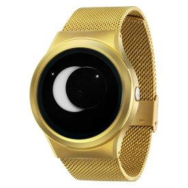 ZEROO SUPER MOON ゼロ 電池式クォーツ 腕時計 [W02007B04SM04] ホワイト デザインウォッチ ペア用 メンズ レディース ユニセックス おしゃれ時計 デザイナーズ