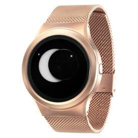 ZEROO SUPER MOON ゼロ 電池式クォーツ 腕時計 [W02007B05SM05] ホワイト デザインウォッチ ペア用 メンズ レディース ユニセックス おしゃれ時計 デザイナーズ