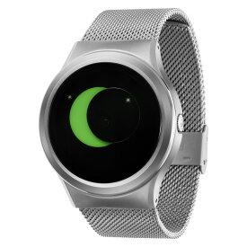 ZEROO SUPER MOON ゼロ 電池式クォーツ 腕時計 [W02008B01SM01] グリーン デザインウォッチ ペア用 メンズ レディース ユニセックス おしゃれ時計 デザイナーズ
