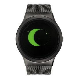 ZEROO SUPER MOON ゼロ 電池式クォーツ 腕時計 [W02008B02SM02] グリーン デザインウォッチ ペア用 メンズ レディース ユニセックス おしゃれ時計 デザイナーズ