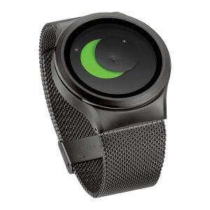ZEROOSUPERMOONゼロ電池式クォーツ腕時計[W02008B02SM02]グリーン