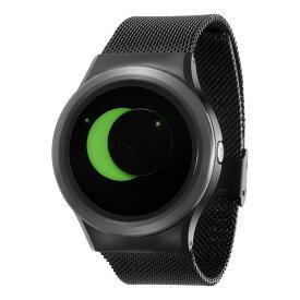 ZEROO SUPER MOON ゼロ 電池式クォーツ 腕時計 [W02008B03SM03] グリーン デザインウォッチ ペア用 メンズ レディース ユニセックス おしゃれ時計 デザイナーズ