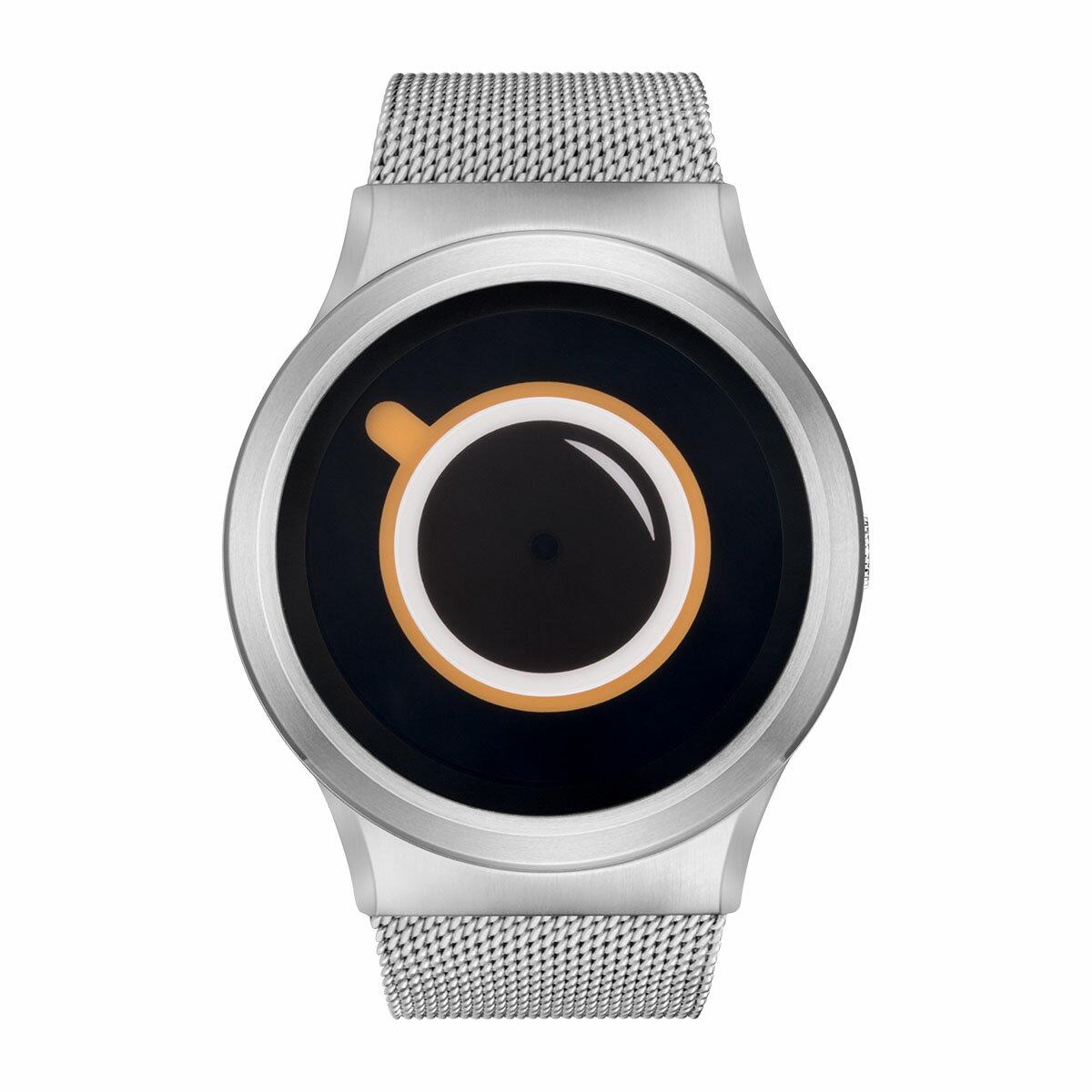 ZEROO COFFEE TIME ゼロ 電池式クォーツ 腕時計 [W03009B01SM01] ベージュ デザインウォッチ ペア用 メンズ レディース ユニセックス おしゃれ時計 デザイナーズ