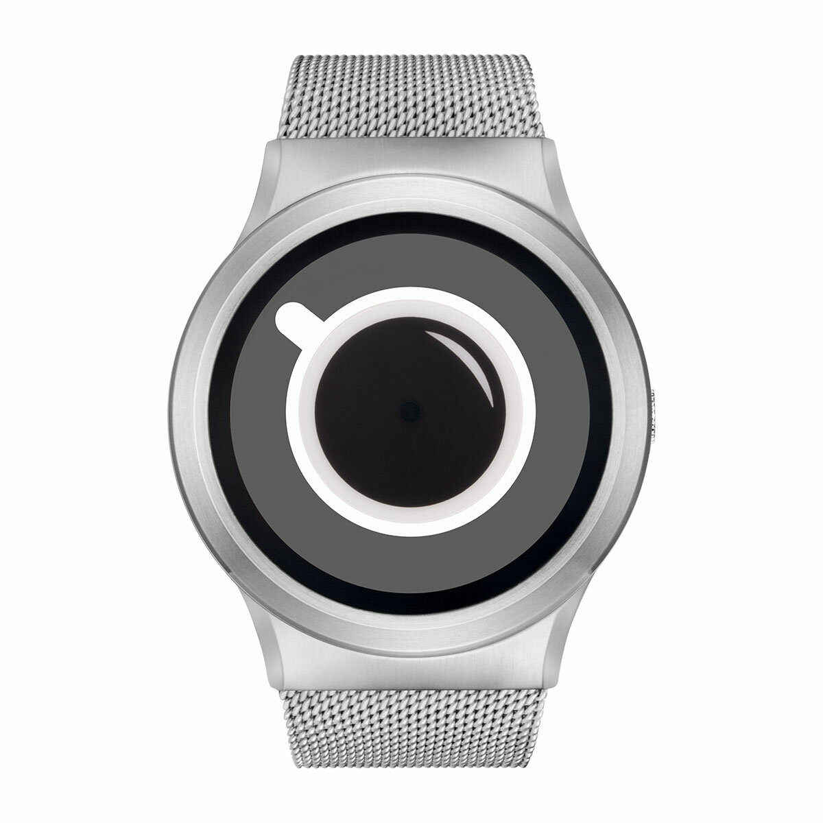 ZEROO COFFEE TIME ゼロ 電池式クォーツ 腕時計 [W03010B01SM01] ホワイト デザインウォッチ ペア用 メンズ レディース ユニセックス おしゃれ時計 デザイナーズ