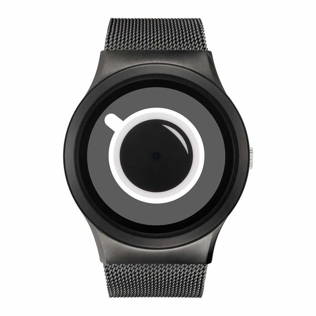 ZEROO COFFEE TIME ゼロ 電池式クォーツ 腕時計 [W03010B02SM02] ホワイト デザインウォッチ ペア用 メンズ レディース ユニセックス おしゃれ時計 デザイナーズ