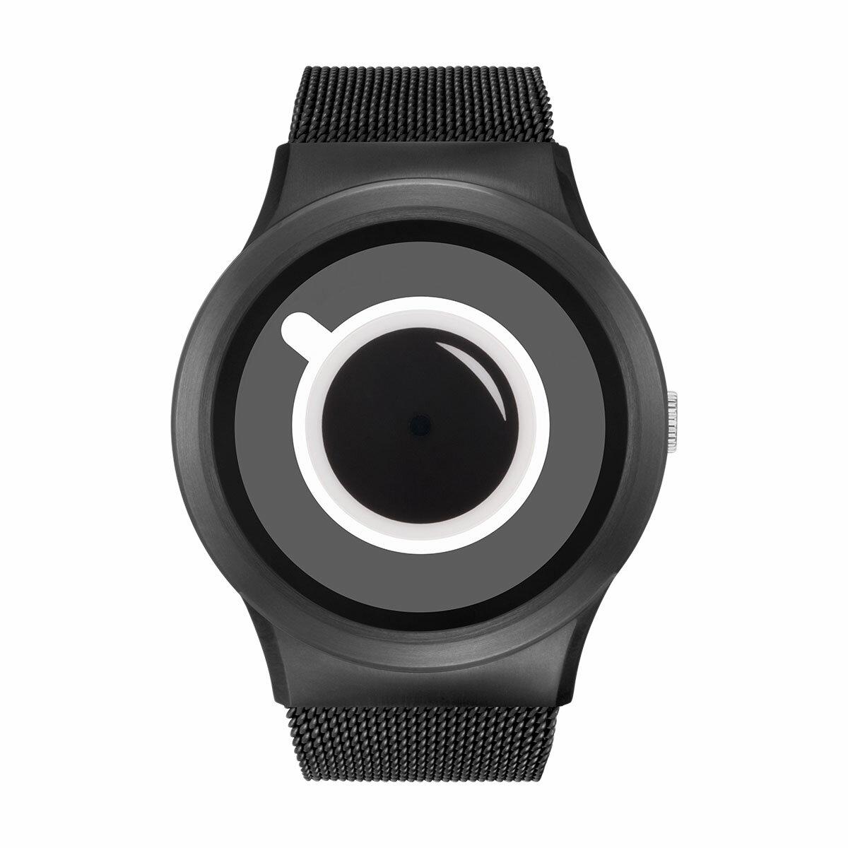 ZEROO COFFEE TIME ゼロ 電池式クォーツ 腕時計 [W03010B03SM03] ホワイト デザインウォッチ ペア用 メンズ レディース ユニセックス おしゃれ時計 デザイナーズ