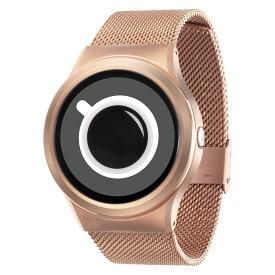 ZEROO COFFEE TIME ゼロ 電池式クォーツ 腕時計 [W03010B05SM05] ホワイト デザインウォッチ ペア用 メンズ レディース ユニセックス おしゃれ時計 デザイナーズ