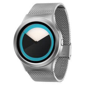 ZEROO DEEPSKY SWEEPING ゼロ 電池式クォーツ 腕時計 [W04011B01SM01] ブルー デザインウォッチ ペア用 メンズ レディース ユニセックス おしゃれ時計 デザイナーズ