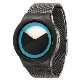 ZEROO DEEPSKY SWEEPING ゼロ 電池式クォーツ 腕時計 [W04011B02SM02] ブルー デザインウォッチ ペア用 メンズ レディース ユニセックス おしゃれ時計 デザイナーズ