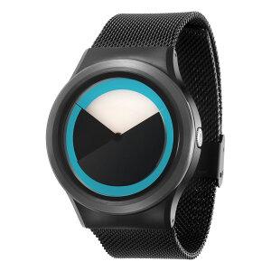 ZEROODEEPSKYSWEEPINGゼロ電池式クォーツ腕時計[W04011B03SM03]ブルー