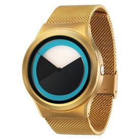 ZEROO DEEPSKY SWEEPING ゼロ 電池式クォーツ 腕時計 [W04011B04SM04] ブルー デザインウォッチ ペア用 メンズ レディース ユニセックス おしゃれ時計 デザイナーズ
