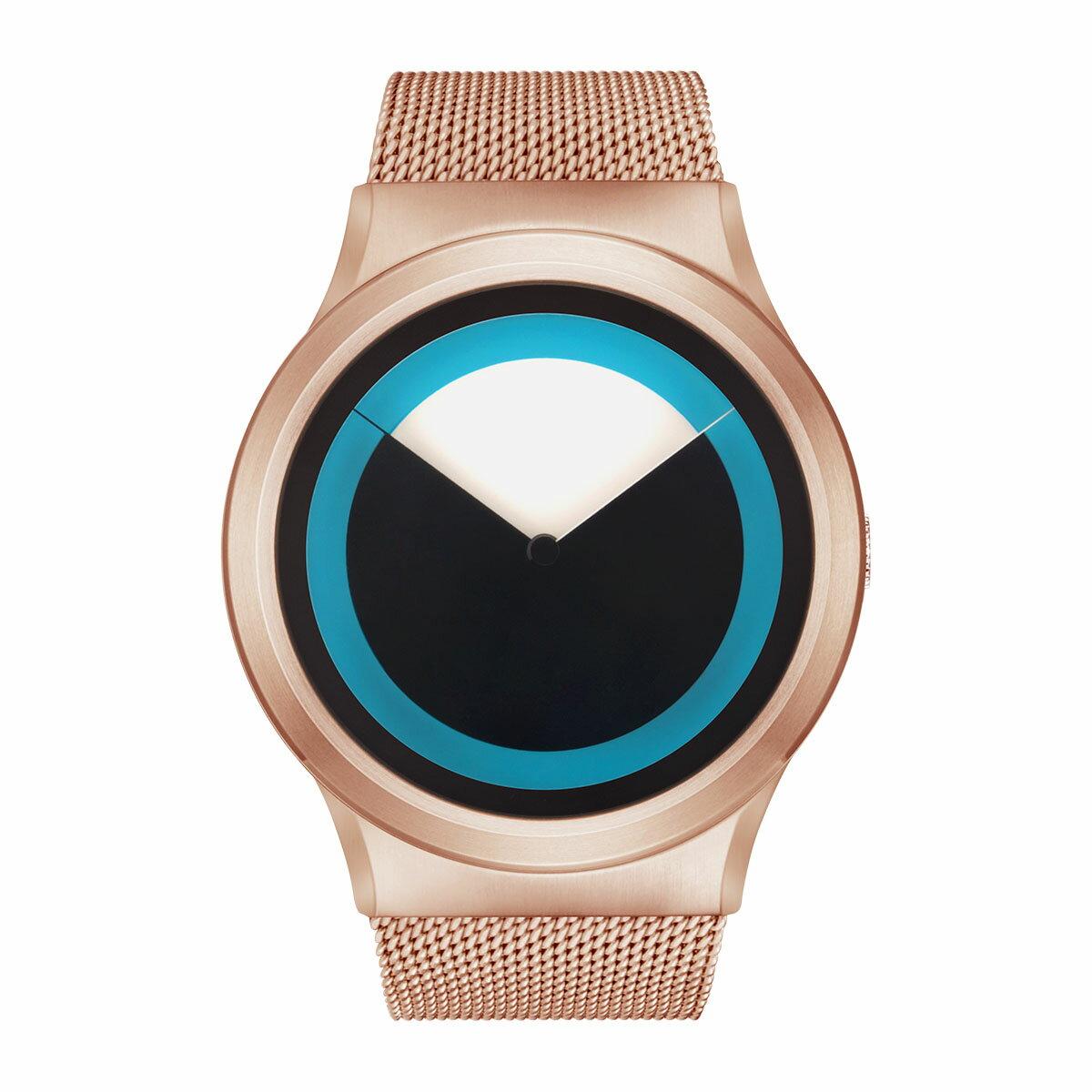 ZEROO DEEPSKY SWEEPING ゼロ 電池式クォーツ 腕時計 [W04011B05SM05] ブルー デザインウォッチ ペア用 メンズ レディース ユニセックス おしゃれ時計 デザイナーズ
