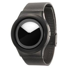 ZEROO DEEPSKY SWEEPING ゼロ 電池式クォーツ 腕時計 [W04012B02SM02] グレイ デザインウォッチ ペア用 メンズ レディース ユニセックス おしゃれ時計 デザイナーズ