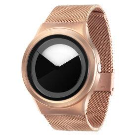 ZEROO DEEPSKY SWEEPING ゼロ 電池式クォーツ 腕時計 [W04012B05SM05] グレイ デザインウォッチ ペア用 メンズ レディース ユニセックス おしゃれ時計 デザイナーズ
