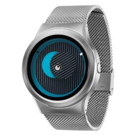 ZEROO SECRET UNIVERSE ゼロ 電池式クォーツ 腕時計 [W05013B01SM01] ブルー デザインウォッチ ペア用 メンズ レディース ユニセックス おしゃれ時計 デザイナーズ