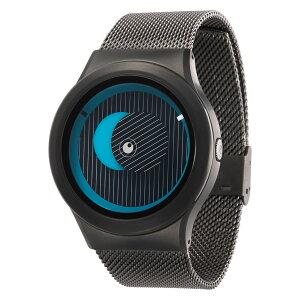 ZEROOSECRETUNIVERSEゼロ電池式クォーツ腕時計[W05013B02SM02]ブルー