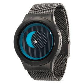 ZEROO SECRET UNIVERSE ゼロ 電池式クォーツ 腕時計 [W05013B02SM02] ブルー デザインウォッチ ペア用 メンズ レディース ユニセックス おしゃれ時計 デザイナーズ