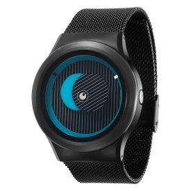 ZEROO SECRET UNIVERSE ゼロ 電池式クォーツ 腕時計 [W05013B03SM03] ブルー デザインウォッチ ペア用 メンズ レディース ユニセックス おしゃれ時計 デザイナーズ