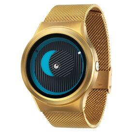 ZEROO SECRET UNIVERSE ゼロ 電池式クォーツ 腕時計 [W05013B04SM04] ブルー デザインウォッチ ペア用 メンズ レディース ユニセックス おしゃれ時計 デザイナーズ