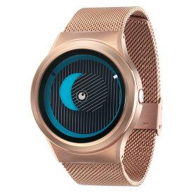 ZEROO SECRET UNIVERSE ゼロ 電池式クォーツ 腕時計 [W05013B05SM05] ブルー デザインウォッチ ペア用 メンズ レディース ユニセックス おしゃれ時計 デザイナーズ