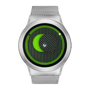 ZEROOSECRETUNIVERSEゼロ電池式クォーツ腕時計[W05014B01SM01]グリーン