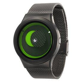ZEROO SECRET UNIVERSE ゼロ 電池式クォーツ 腕時計 [W05014B02SM02] グリーン デザインウォッチ ペア用 メンズ レディース ユニセックス おしゃれ時計 デザイナーズ