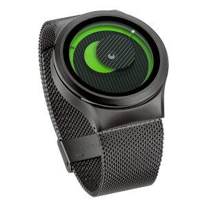 ZEROOSECRETUNIVERSEゼロ電池式クォーツ腕時計[W05014B02SM02]グリーン