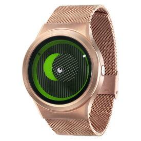 ZEROO SECRET UNIVERSE ゼロ 電池式クォーツ 腕時計 [W05014B05SM05] グリーン デザインウォッチ ペア用 メンズ レディース ユニセックス おしゃれ時計 デザイナーズ