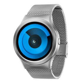 ZEROO SPIRAL GALAXY ゼロ 電池式クォーツ 腕時計 [W06015B01SM01] ブルー デザインウォッチ ペア用 メンズ レディース ユニセックス おしゃれ時計 デザイナーズ