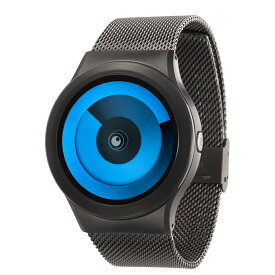 ZEROO SPIRAL GALAXY ゼロ 電池式クォーツ 腕時計 [W06015B02SM02] ブルー デザインウォッチ ペア用 メンズ レディース ユニセックス おしゃれ時計 デザイナーズ