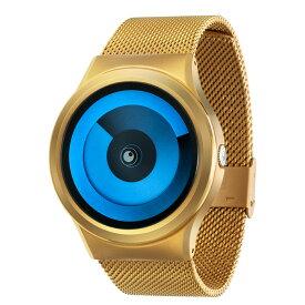 ZEROO SPIRAL GALAXY ゼロ 電池式クォーツ 腕時計 [W06015B04SM04] ブルー デザインウォッチ ペア用 メンズ レディース ユニセックス おしゃれ時計 デザイナーズ