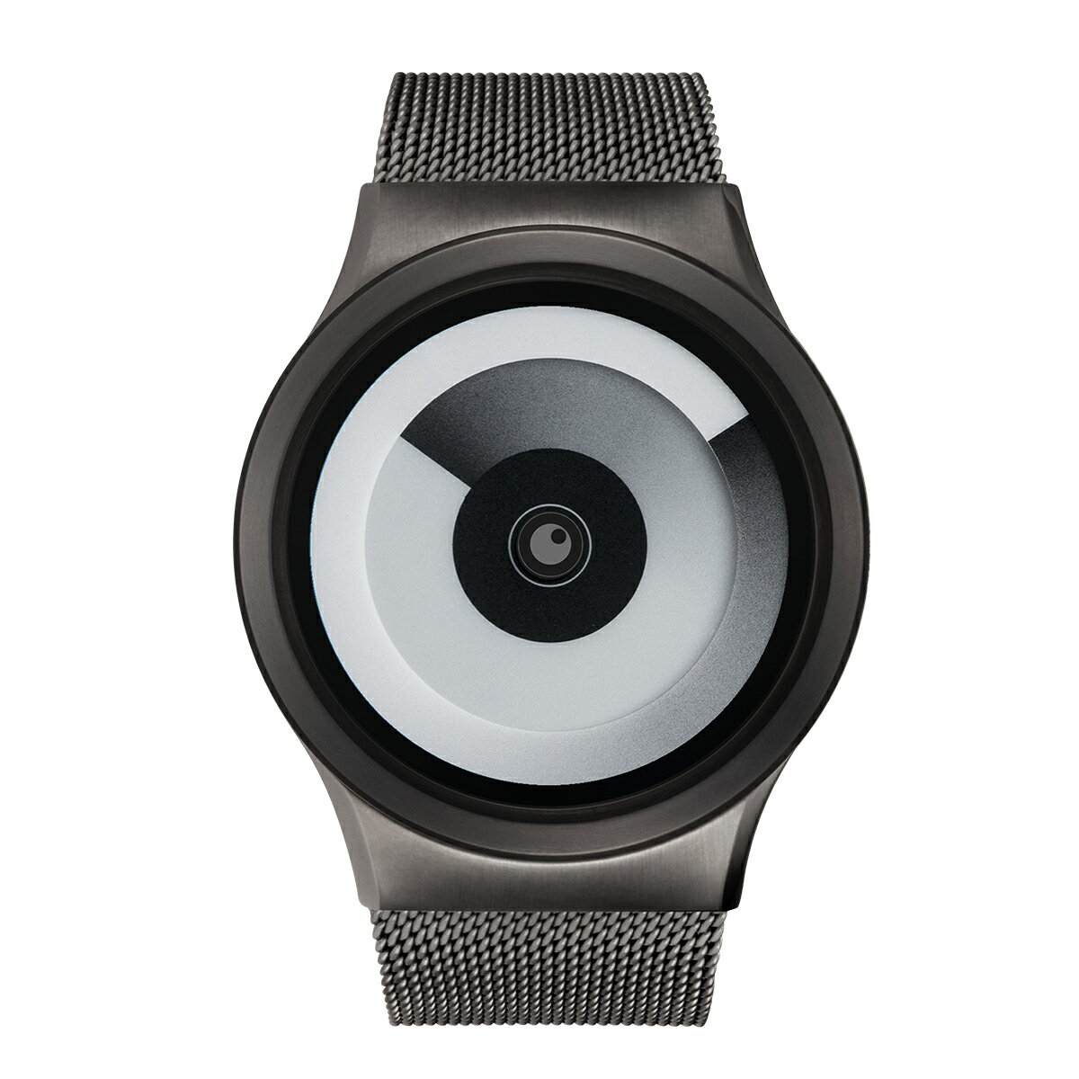 ZEROO SPIRAL GALAXY ゼロ 電池式クォーツ 腕時計 [W06016B02SM02] ホワイト デザインウォッチ ペア用 メンズ レディース ユニセックス おしゃれ時計 デザイナーズ