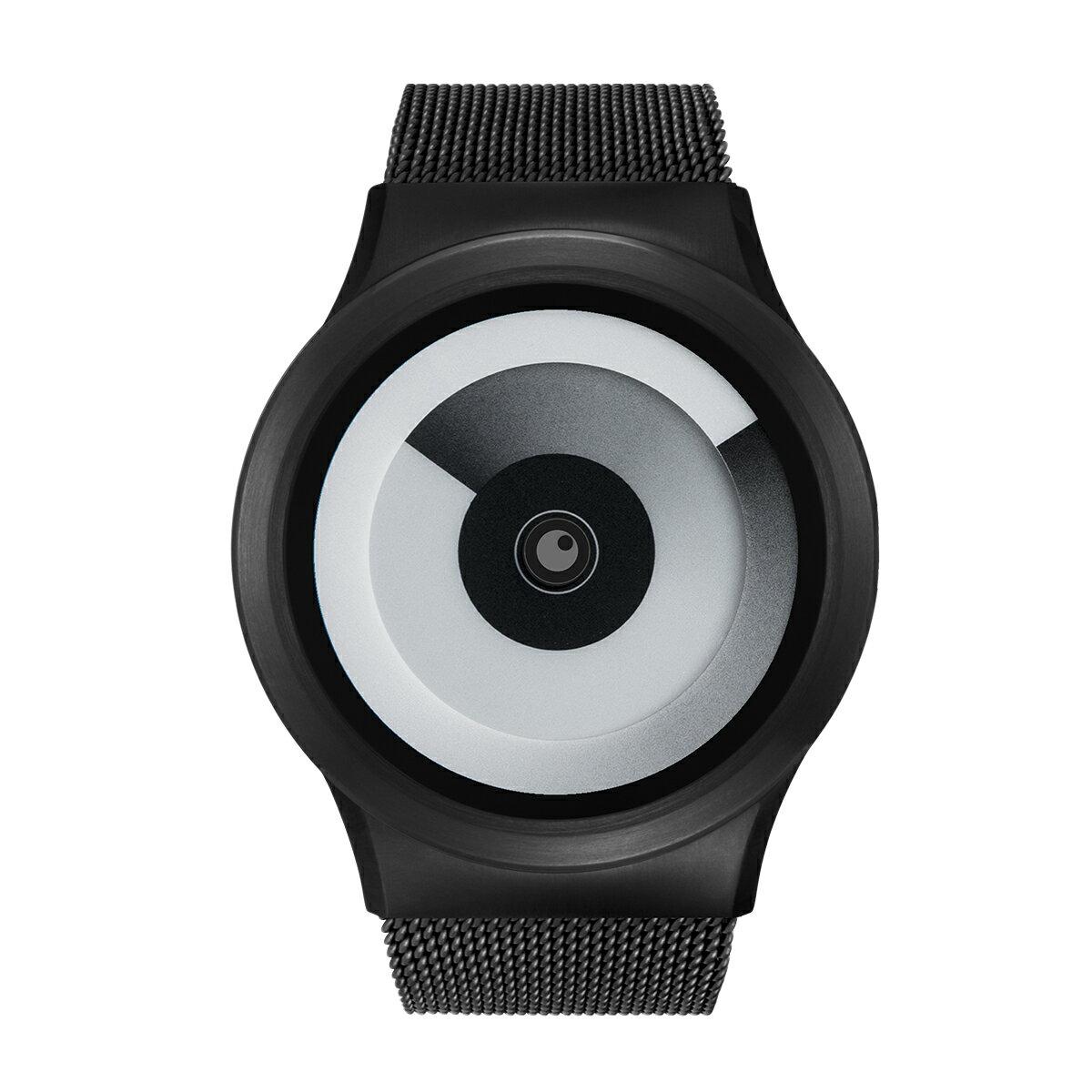 ZEROO SPIRAL GALAXY ゼロ 電池式クォーツ 腕時計 [W06016B03SM03] ホワイト デザインウォッチ ペア用 メンズ レディース ユニセックス おしゃれ時計 デザイナーズ