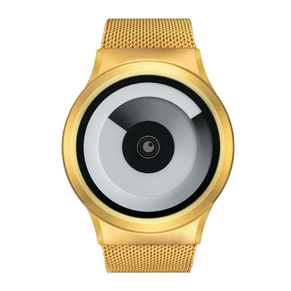 ZEROO SPIRAL GALAXY ゼロ 電池式クォーツ 腕時計 [W06016B04SM04] ホワイト デザインウォッチ ペア用 メンズ レディース ユニセックス おしゃれ時計 デザイナーズ