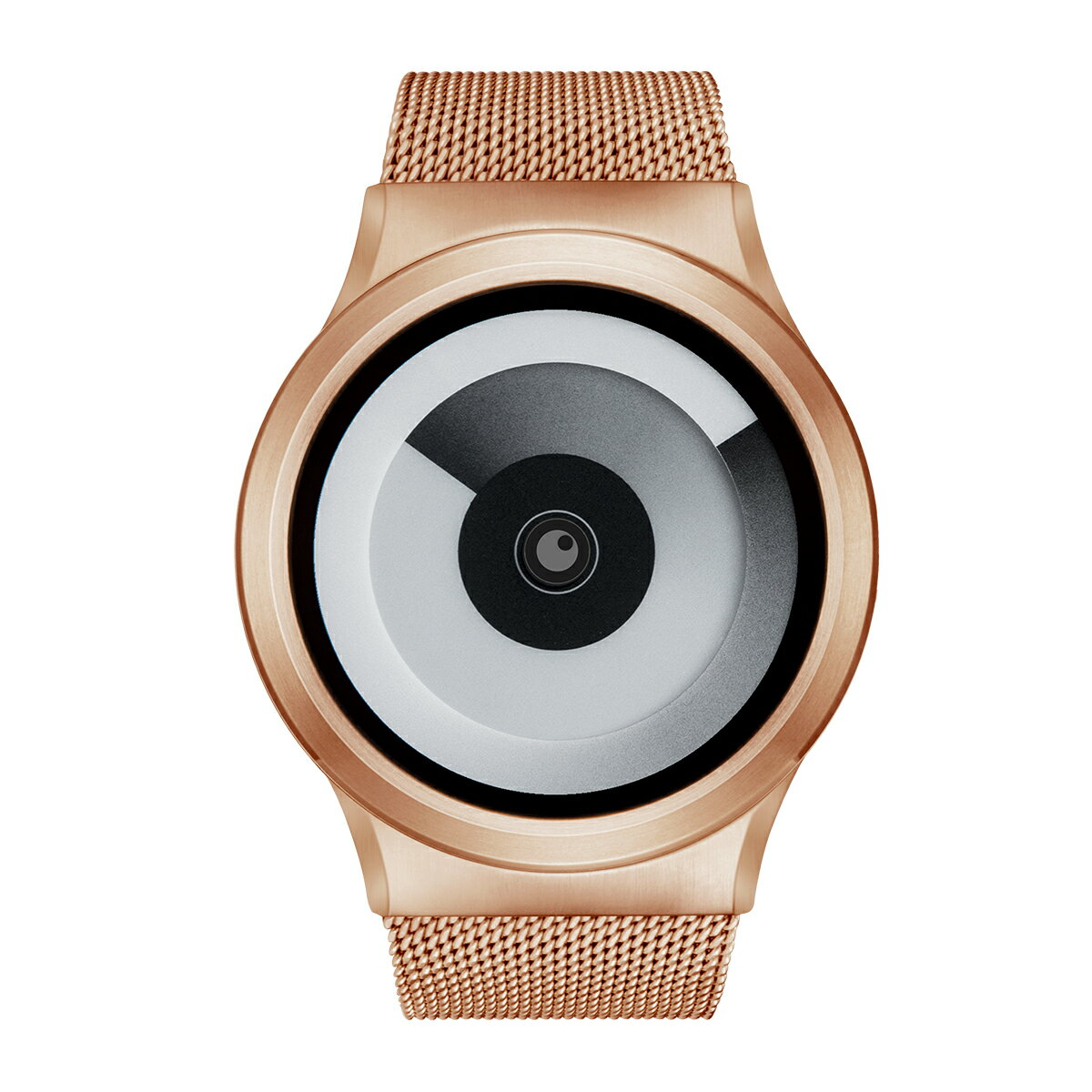 ZEROO SPIRAL GALAXY ゼロ 電池式クォーツ 腕時計 [W06016B05SM05] ホワイト デザインウォッチ ペア用 メンズ レディース ユニセックス おしゃれ時計 デザイナーズ