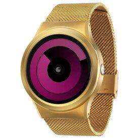 ZEROO SPIRAL GALAXY ゼロ 電池式クォーツ 腕時計 [W06017B04SM04] マゼンタ デザインウォッチ ペア用 メンズ レディース ユニセックス おしゃれ時計 デザイナーズ
