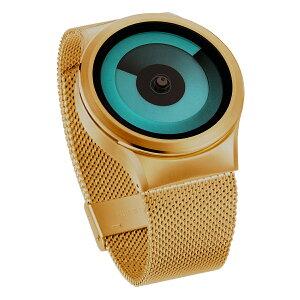ZEROOSPIRALGALAXYゼロ電池式クォーツ腕時計[W06018B04SM04]グリーン