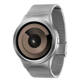ZEROO SPIRAL GALAXY ゼロ 電池式クォーツ 腕時計 [W06019B01SM01] ベージュ デザインウォッチ ペア用 メンズ レディース ユニセックス おしゃれ時計 デザイナーズ