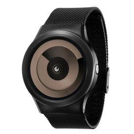ZEROO SPIRAL GALAXY ゼロ 電池式クォーツ 腕時計 [W06019B03SM03] ベージュ デザインウォッチ ペア用 メンズ レディース ユニセックス おしゃれ時計 デザイナーズ