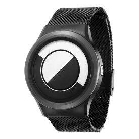 ZEROO QUARTER MOON ゼロ 電池式クォーツ 腕時計 [W08031B03SM03] ホワイト デザインウォッチ ペア用 メンズ レディース ユニセックス おしゃれ時計 デザイナーズ