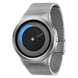 ZEROO CRESCENT MOON ゼロ 電池式クォーツ 腕時計 [W09036B01SM01] ブルー デザインウォッチ ペア用 メンズ レディース ユニセックス おしゃれ時計 デザイナーズ