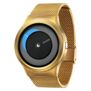 ZEROOCRESCENTMOONゼロ電池式クォーツ腕時計[W09036B04SM04]ブルー