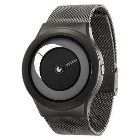 ZEROO CRESCENT MOON ゼロ 電池式クォーツ 腕時計 [W09037B02SM02] ホワイト デザインウォッチ ペア用 メンズ レディース ユニセックス おしゃれ時計 デザイナーズ