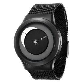 ZEROO CRESCENT MOON ゼロ 電池式クォーツ 腕時計 [W09037B03SM03] ホワイト デザインウォッチ ペア用 メンズ レディース ユニセックス おしゃれ時計 デザイナーズ