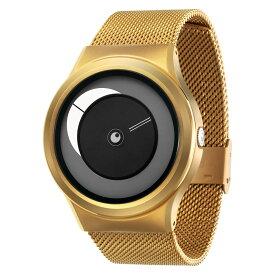 ZEROO CRESCENT MOON ゼロ 電池式クォーツ 腕時計 [W09037B04SM04] ホワイト デザインウォッチ ペア用 メンズ レディース ユニセックス おしゃれ時計 デザイナーズ