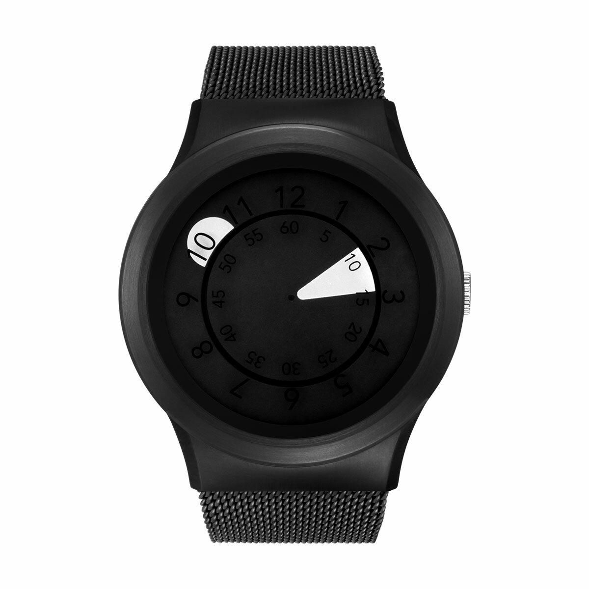 ZEROO AQUA DROP ゼロ 電池式クォーツ 腕時計 [W10038B03SM03] ホワイト デザインウォッチ ペア用 メンズ レディース ユニセックス おしゃれ時計 デザイナーズ