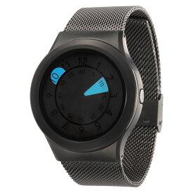 ZEROO AQUA DROP ゼロ 電池式クォーツ 腕時計 [W10039B02SM02] ブルー デザインウォッチ ペア用 メンズ レディース ユニセックス おしゃれ時計 デザイナーズ